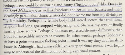 A definition of the female mystic and the divine feminine.